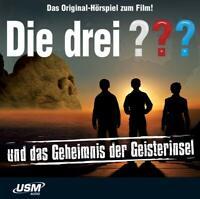DAS GEHEIMNIS DER GEISTERINSEL (HÖRSPIEL ZUM FILM) - DIE DREI ???   CD NEU