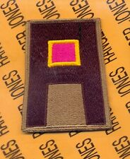 """Us Army 1st First Army Command Ordnance Branch Ssi 3"""" patch c/e"""