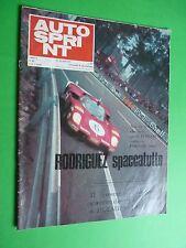 AUTOSPRINT 1970/28 Rodriguez Porsche 5000 Lotus 72 Peterson Merzario Amphicar
