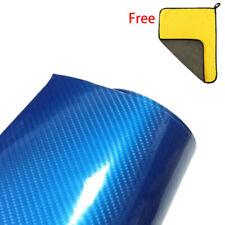 7D Carbon Film Wrap Fiber Vinyl Gloss Air Release Bubble Free Super 6D Premium