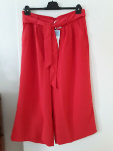 Damen, culotte, Größe 48, Farbe rot