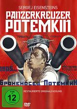 DVD Panzerkreuzer Potemkin von Sergei Eisenstein Restaurierte Original Fassung