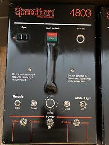 SPEEDOTRON 4803 POWER PACK 4800 Watt/120 Volts Second Power Supply 120V
