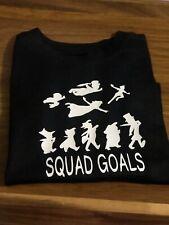 New Unisex Peter Pan Squad Goals T-shirt Black Party  Kid Boy  Design 2T 3T 4T