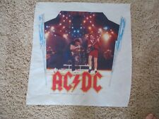 AC/ DC Vinyl Banner - Brian Johnson and Angus Young Shoot To Thrill - Thunder '8