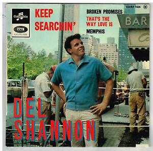 DEL SHANNON    Keep  Searchin'     7'  EP 45 tours