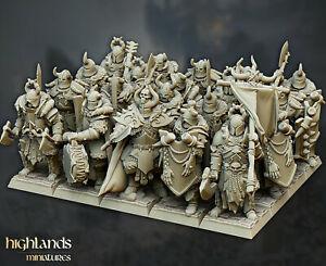 Varyags Warriors, Highlands Miniatures, Chaos, Warriors of the Dark Gods,