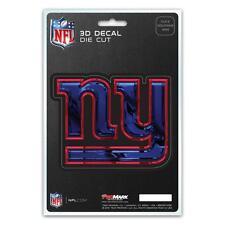 New York Giants Die Cut 3D Logo Decal [NEW] NFL Car Sticker Emblem Truck