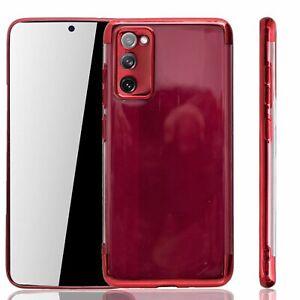 Samsung Galaxy S20 FE Hülle Case Handy Cover Schutz Tasche Schutzhülle Etui Rot
