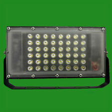50W LED Outdoor IP66 Waterproof Slim 12V-90V Floodlight with Battery Croc Clips