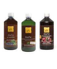 Aloe MixPack: 1 Succo da Bere di Puro Aloe + 1 Aloe e Mirtillo + Aloe e Melogran