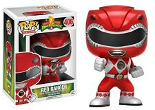 Funko - POP Television: Power Rangers - Red Ranger Actn