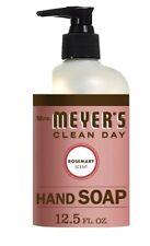 Mrs. Meyer's Clean Day Hand Soap 12.5 oz Rosemary Scent Handwashing Liquid