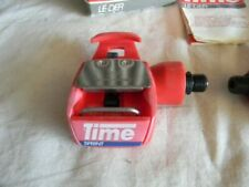 TIME Sprint Clipless Road Bike Pedals Red pair