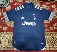New Adidas Juventus 2020-21 Away Authentic Soccer Jersey FN1007 M