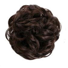 Messy Bun Hair Extensions Hair Piece Bun Pony Scrunchie Wavy Curly Wrap Long