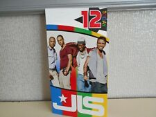 12 today Happy Birthday from JLS Card 12th Birthday Boy band music card JLS