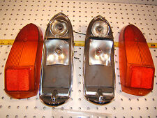 MG Midget 1974 Rear Lucas Taillights Genuine 1 set of 2 Assembly's,L840,54580422