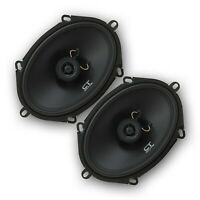 "CT Sounds Bio 5x7"" Car Speakers 2-Way Audio Coaxial Door Coax Speaker Set (Pair)"