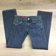 Miss Sixty Big Ty Straight Leg Women's Jeans Size 25 W31 L33.5 (EE15)