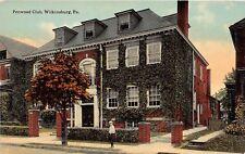 D68/ Wilkinsburg Pennsylvania Pa Postcard c1910 Penwood Club Building