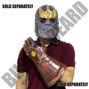Halloween THANOS - LATEX MASK - INFINITY GAUNTLET - Avengers - Sold Separately