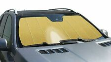 GOLD Reflector FOLDING Custom Sun Shade W/ BAG for Hyundai - Heat Screen Shield