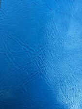 Turquoise Distress Upholstery Faux Leather Vinyl Fabric - BTY - Bags Wallets