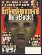 Hannibal Entertainment Weekly May 1999 Star Wars Robbie Williams Woody Allen