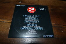 CRADLE OF FILTH - HELLOWEN - CANNIBAL CORPSE - OVERSOUL - CD compil !!
