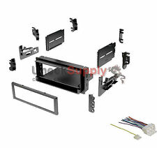 Radio Mounting Stereo Install Installation Sgl Din Aftermarket Dash Kit Combo