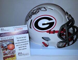 Todd Gurley Signed Autographed Georgia Bulldogs Mini Helmet JSA J19788 Lmt Ed