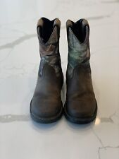 Youth Ariat Camo Boots Size Us 1