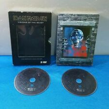 DVD MUSICA - IRON MAIDEN  VISIONS OF THE BEAST - THE COMPLETE VIDEO HISTORY