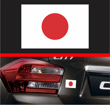"4"" Japanese Flag Vinyl Decal Bumper Sticker Japan Rising Sun Macbook JDM Honda"