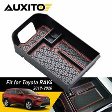 For Toyota RAV4 2019-2020 BOX Center Console Organizer Holder ABS Accessories F1