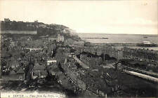 Dover. View from 64 Steps # 1 by LL / Levy. Black & White.