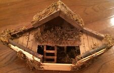Noah's Ark Wood And Moss Boat Ark Only Craft And Project