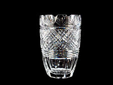 Waterford Crystal Georgian Strawberry Scalloped Vase