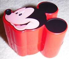 Mickey Mouse Refillable Plastic Candy Container for School Lunch Box