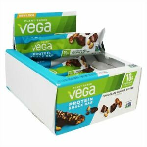 Vega Protein Snack Bar Chocolate Peanut Butter 12 bars