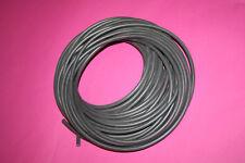 CU Silikon Zündkabel schwarz * Meterware * 7mm 1,0mm neu Kupferkern hochwertig