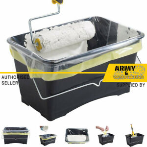 Paint Scuttle Liners Fast Painting Decorators Roller Tray Bucket Trade Coreflex