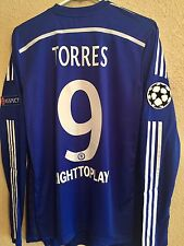 Chelsea Torres Atletico ,8,9,10,11 Player Issue Shirt uefa  Match Unworn Jersey