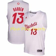 Anuncio nuevoJames Harden Houston Rockets Blanco Navidad Adidas Swingman  Jersey Talla XL 5dd018b36cc
