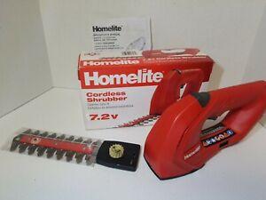Homelite Cordless Shrubber 7.2 v No charger