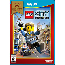 LEGO City: Undercover (Wii U, Nintendo Selects, TT Games) - Brand New/Seale