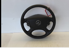 MERCEDES CLS E CLASS W211 W219 LEATHE STEERING WHEEL WITH AIRBAG MULTI FUNCTION