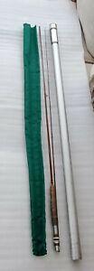 Vintage 1973 Orvis Impregnated Madison Bamboo Fly Rod. 8' 4 3/8 Oz W/ Tube, Sock