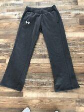 Under Armour Loose Fit Midweight Running Training Pants (Mens Medium) Gray